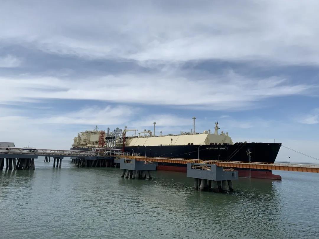 天津LNG接收站总接卸量(液化天然气)超2000万吨!