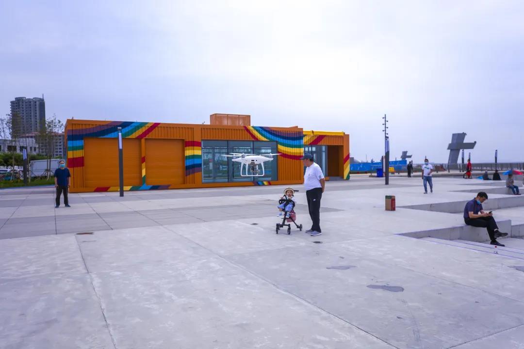 东疆护海、亲海演绎科技与浪漫